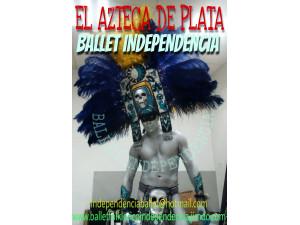AZTECA DE PLATA EN XV AÑOS,BODAS,FIESTAS