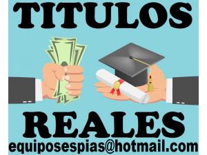 Asesoria para obtener titulos universitarios y tecnicos