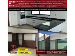Renta y Venta Casa en Real de Juriquilla