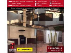 Venta casa en Jurquilla