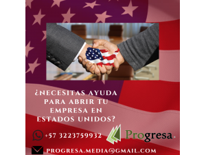 ABRE TU EMPRESA EN USA ONLINE
