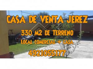 CASA DE VENTA EN JEREZ CON JARDIN