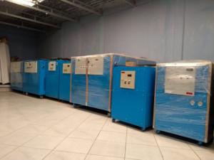 Fabricación y renta de chiller de 1-25tr