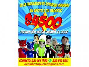 PROMOCION DE BOTARGAS DE FIGURAS HUMANAS