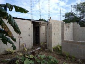 Terreno ejidal al sur de Mérida con construcción