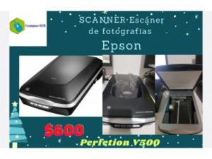 Escáner De Fotografía Epson  Perfectión V500