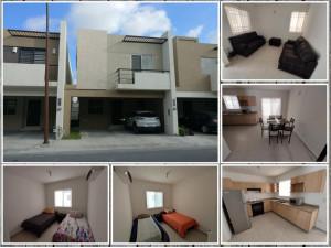 ALMERIA Casa en Renta AMUEBLADA en Apodaca MZC