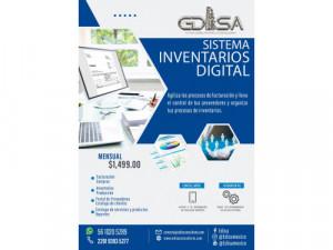 sistema de inventarios digital