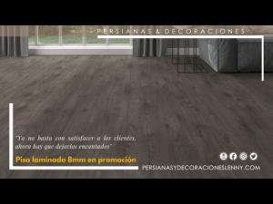 PISO LAMINADO 8MM EN PROMOCION