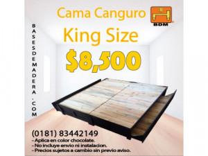 Cama canguro chocolate en Apodaca
