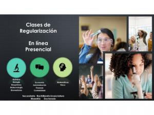CLASES EN LINEA MATEMATICAS FISICA QUIMICA