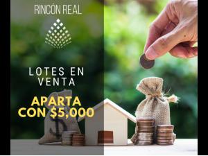 Lotes en Venta con Financiamiento, Rincon Real Mazatlan...