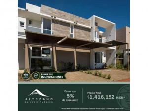 En venta casas en Altozano ¡Aprovecha tu crédito FOVI...