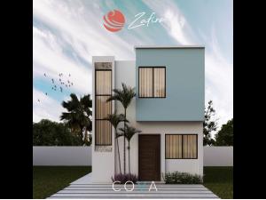 Casa en Coto Privado, en Mazatlán, Coto Bahia