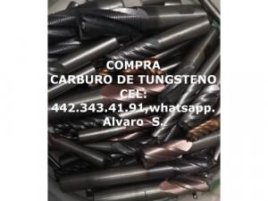 COMPRA DE CARBURO DE TUNGSTENO EN GOMEZ PALACIO
