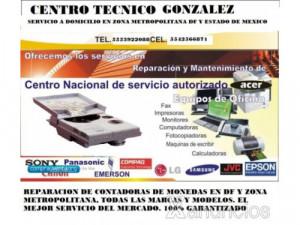 Reparacion de contadoras de monedas CDMX y zona metropo...
