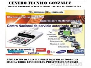 Reparacion de calculadoras CDMX y zona metropolitana