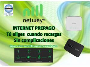 Instalación de Internet Netwey