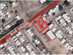 Terreno de 912 m2 Fracc Oasis Blvd Solana en Hermosillo...