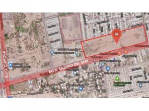 Terreno de 45120 m2 uso mixto Blvd Camino del Seri en H...
