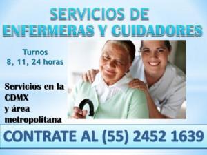 Servicios de Enfermeras y cuidadores