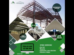 Construcción de Estructuras Metálicas, Casas, Centros...