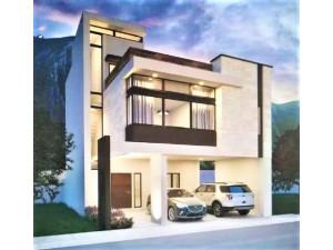 Casa Nueva en Venta en Dominio Cumbres, Santoral, Garc�...