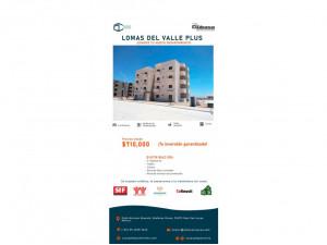 Departamentos económicos en San Lucas, Lomas del Valle...