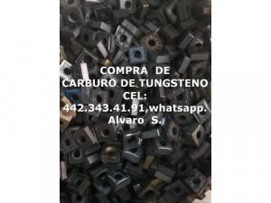 CARBURO DE TUNGSTENO COMPRA POR KILO