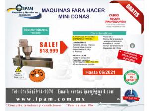 MAQUINA DE MINI DONAS SEMI-AUTOMÁTICA