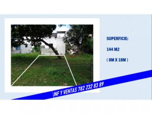 Venta terreno 144 m2 Poza Rica