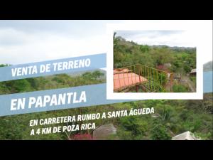 Venta Terreno 5,000 m2 EN PAPANTLA-POZA RICA VERACRUZ