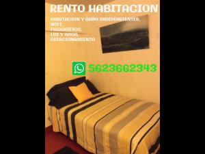 RENTO HABITACION CERCA HOSPITAL DE TRAUMATOLOGIA