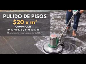 PULIDO DE PISOS EN SALTILLO