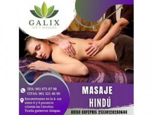 promoción masaje hindú