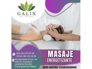 masaje energetizante
