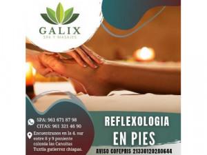 reflexología en pies