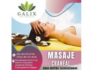 30 min de masaje craneal