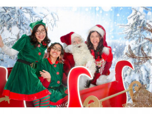 Renta de Santa Claus di Bari en fiestas y eventos.
