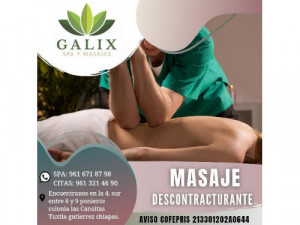 masaje descontracturante 1 hr
