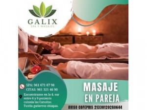 sábado de masaje en pareja