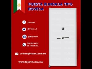 PUERTA BLINDADA TIPO BOVEDA