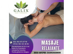 promoción masaje relajante