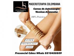 Cursos de MADEROTERAPIA COLOMBIANA REDUCTIVA