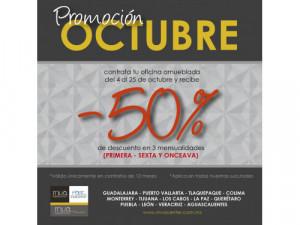 Promoción mes de octubre