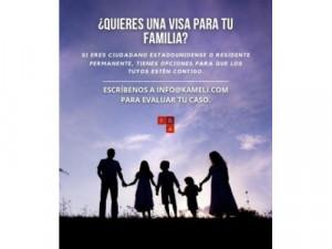¿Quieres una visa para tu familia?